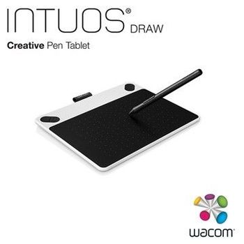 【 Wacom 】 Intuos Draw Pen (S) CTL-490/W0-CX (簡約白) .B0CX(時尚藍)