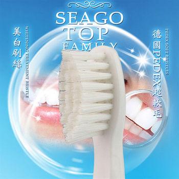 【SEAGO賽嘉】亮白刷頭SG-853H (2支裝)牙刷替換頭