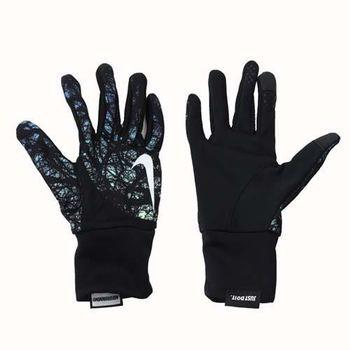 【NIKE】女用DRI-FIT輕量跑步手套-慢跑 路跑 訓練 黑藍綠