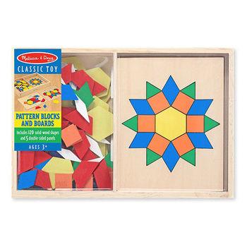 【美國 Melissa  Doug】木製七巧板 MD029