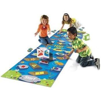 【美國教學資源】亞馬遜河鱷魚跳-地板遊戲 LER9544