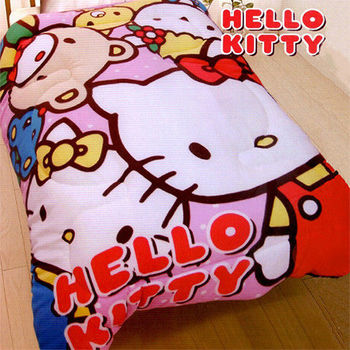 【Hello Kitty】歡樂同好會 暖暖厚毯被