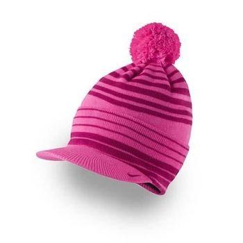 【NIKE】GOLF 針織帽 - 鴨舌帽 毛帽 高爾夫 粉紅桃紅