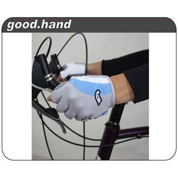 【GOODHAND】星光大道公路車專用手套-自行車手套.單車手套  水藍