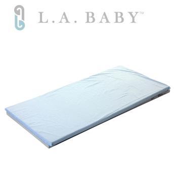 【美國 L.A. Baby】天然乳膠床墊-七色可選(床墊厚度2.5-L)