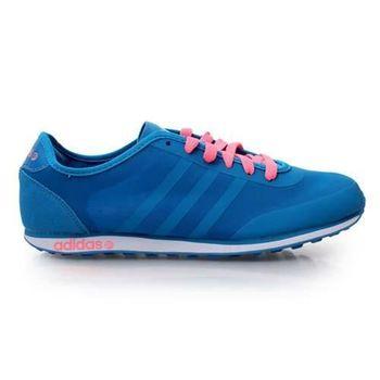 【ADIDAS】GROOVE TM W 女休閒鞋- 走路鞋 愛迪達 寶藍粉紅