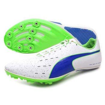 【PUMA】TFX SPRINT V5 男田徑釘鞋 - 競賽 短距離 白藍綠
