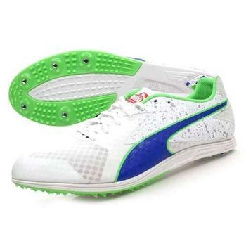 【PUMA】TFX DISTANCE V5 男田徑釘鞋 - 長距離 白藍綠