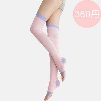 【1111限時下殺】足下物語 360丹美化曲線睡眠襪(粉色)