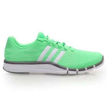 【ADIDAS】360.2 PRIMA 女室內多功能健身鞋- 愛迪達 運動 綠白