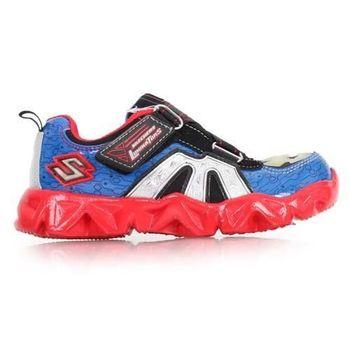 【SKECHERS】男女中童慢跑鞋- 路跑 童鞋 紅藍
