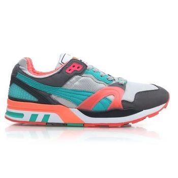 【PUMA】TRINOMIC XT 2 PLUS 男休閒鞋 復古運動鞋 灰湖水綠橘
