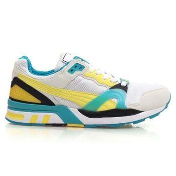 【PUMA】TRINOMIC XT 2 PLUS 男休閒鞋 復古運動鞋 白黃湖水藍