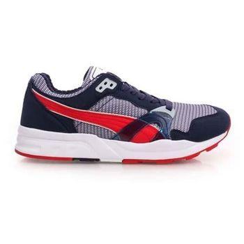【PUMA】TRINOMIC XT 1 PLUS 男休閒鞋-復古慢跑鞋 丈青紅
