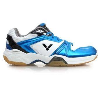 【VICTOR】男羽球鞋- 排球 勝利 藍白