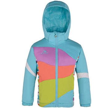【聖伯納 St.Bonalt】中童-拼接豔彩滑雪外套-水藍(87036)