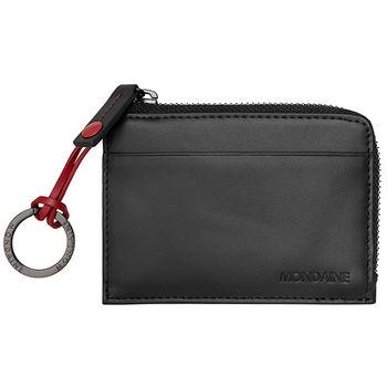 MONDAINE 瑞士國鐵卡片鑰匙包-黑