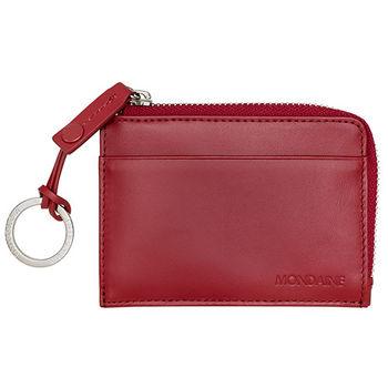 MONDAINE 瑞士國鐵卡片鑰匙包-紅