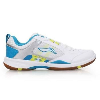 【LI-NING】男羽球鞋-李寧 白藍黃