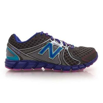 【NEWBALANCE】750 V2 女慢跑鞋- 路跑鞋 NB 深灰紫