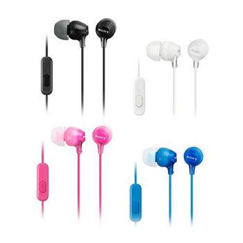 SONY 智慧型手機專用耳機 MDR-EX15AP