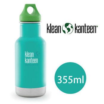 【美國Klean Kanteen】幼童不鏽鋼保溫瓶355ml_潮汐藍