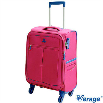 Verage ~維麗杰 19吋二代超輕量經典格紋登機箱(桃紅)
