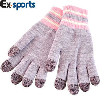 Ex-sports 觸控手套 智慧多功能(女款-G01)