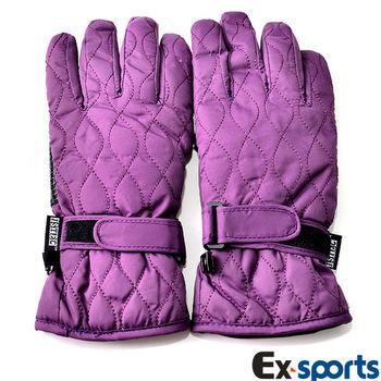 Ex-sports 防水保暖手套 超輕量多功能(女款-7314)