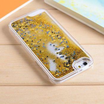 Bling Blin Apple  iPhone 6/6S 星星流沙動態手機殼