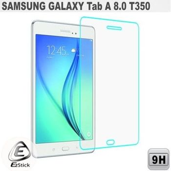 【EZstick】Samsung Galaxy Tab A 8.0 T350 平板專用 鏡面鋼化玻璃膜 靜電吸附
