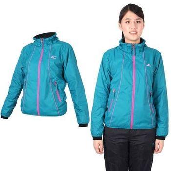 【MIZUNO】女風衣外套- 防風 美津濃 立領外套 湖水綠桃紅