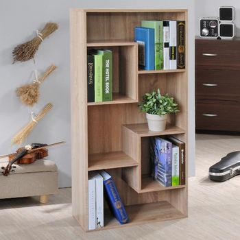 【Hopma】淺橡木色多變書櫃/收納櫃