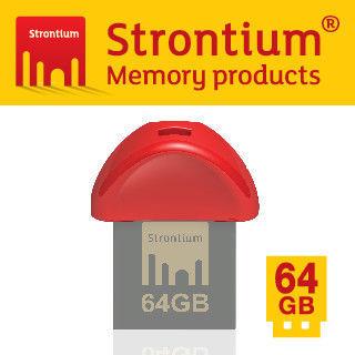 Strontium NITRO PLUS NANO USB 3.0 64G 高速輕巧隨身碟