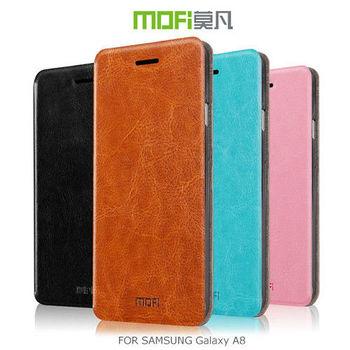 【MOFI】 莫凡 Samsung Galaxy A8 睿系列側翻皮套 保護殼 保護套