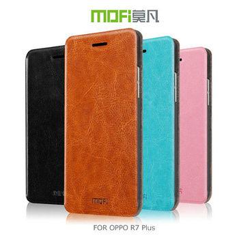 【MOFI】 OPPO R7 Plus 睿系列側翻皮套