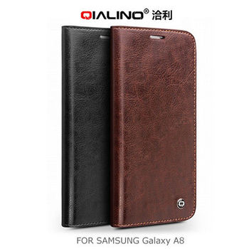 【QIALINO】 SAMSUNG Galaxy A8 經典皮套