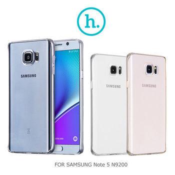 【HOCO】 SAMSUNG Galaxy Note 5 N9200/N9208 輕系列 TPU 套