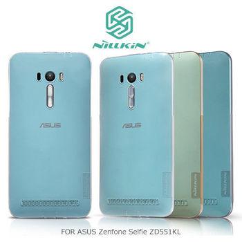 【NILLKIN】 ASUS Zenfone Selfie ZD551KL 本色TPU軟套