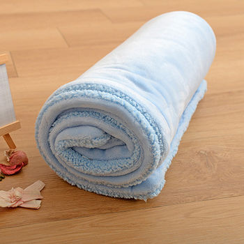 《Embrace英柏絲》雙層法蘭絨羊羔絨兒童毯 76x102cm送禮首選