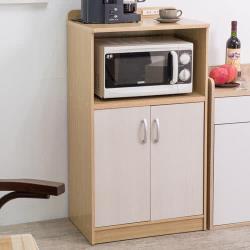 【尼克斯】《妙主婦》雙門廚房收納櫃(雙色可選)