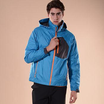 【JORDON】男款2.5L層 兩件式超輕撥水羽絨外套(367) 防水防風透氣+羽絨2合一