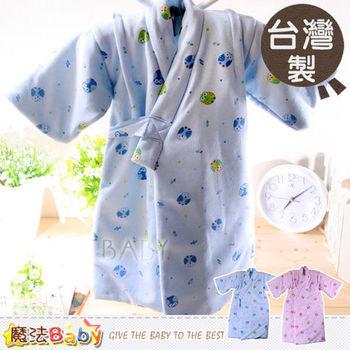 嬰兒和服~台灣製厚款鋪棉保暖和服~男女童裝~魔法Baby~g3306