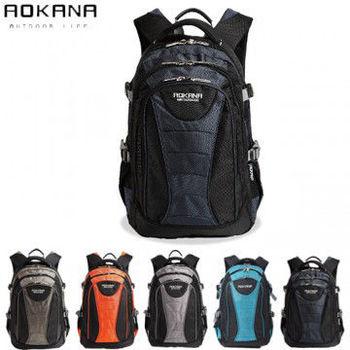 【AOKANA奧卡納】城市潮男 電腦後背包 防潑水背包(任選一枚68-048)