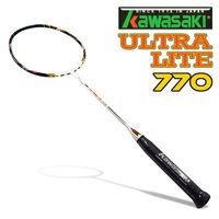 Kawasaki Ultra LITE 770 奈米碳纖維超輕羽球拍 ^#40 空拍 ^#