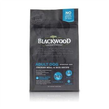 【BlackWood】柏萊富 特調成犬活力(雞肉+米) 5磅 X 1包
