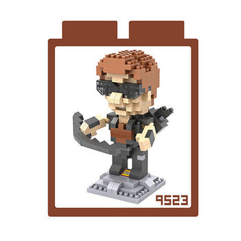 LOZ 鑽石積木 【動漫系列】9523-鷹眼 益智玩具 趣味 腦力激盪