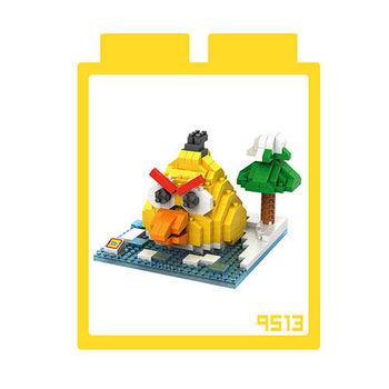 LOZ 鑽石積木 【動漫系列】9513-黃色鳥 益智玩具 趣味 腦力激盪
