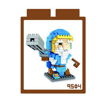 LOZ 鑽石積木 【電玩系列】9504-魔獸世界 火槍手 益智玩具 趣味 腦力激盪