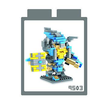 LOZ 鑽石積木 【電玩系列】9503-魔獸世界 山丘之王 益智玩具 趣味 腦力激盪